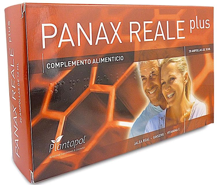 Plantapol Panax Reale Plus 20 ampollas