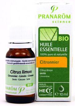 Pranarom Limón Aceite Esencial BIO 10ml