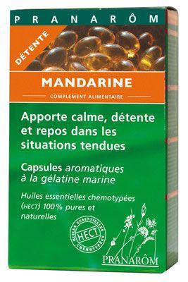 Pranarom Mandarina 30 cápsulas oleoaromáticas