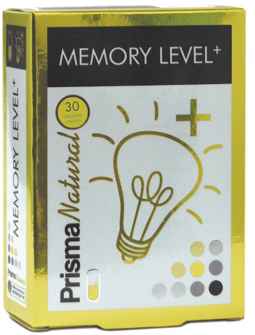 Prisma Natural Memory level+ 30 capsulas