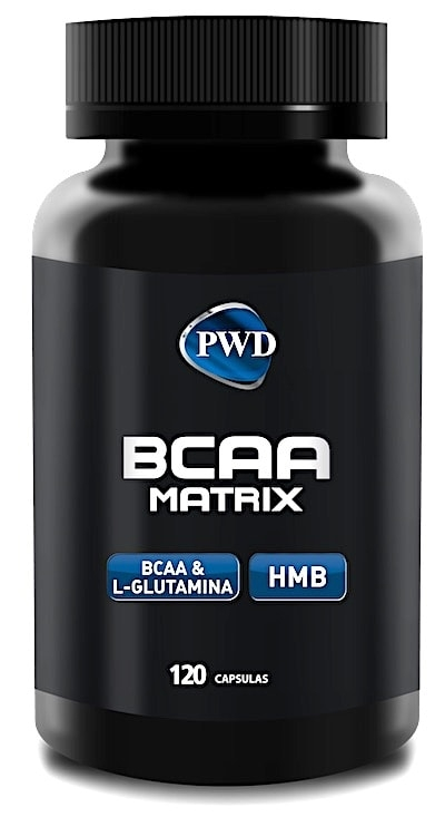 PWD Nutrition BCAA Matrix 120 capsulas