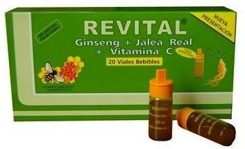 Pharma OTC Revital Ginseng 20 ampollas