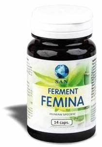 SAN Probioticos Ferment Femina 14 cápsulas vaginales