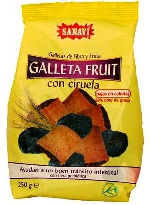 Sanavi Galleta Fruit Ciruela 250g