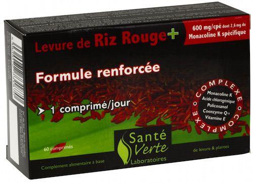 Sante Verte Arroz de Levadura Roja + CoQ10 60 comprimidos