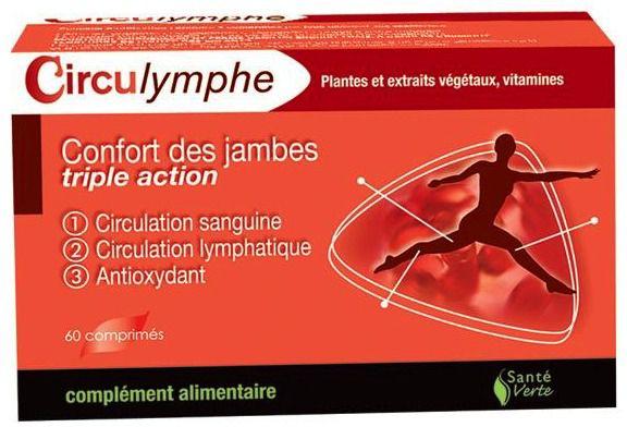Sante Verte Circulymphe 60 comprimidos