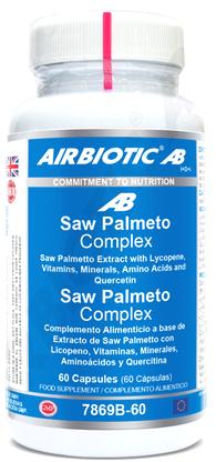 Airbiotic Saw Palmeto Complex 60 cápsulas