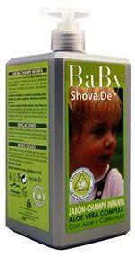 Shova.De Baby Jabón Champú Infantil Aloe 1litro
