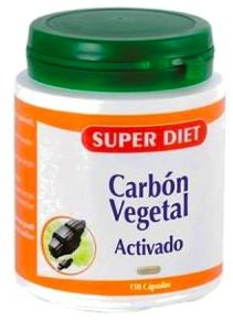 Super Diet Carbón Vegetal Activado 150 cápsulas