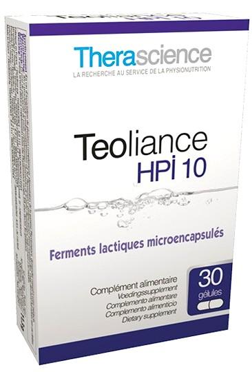 Therascience Teoliance HPI 10 30 cápsulas