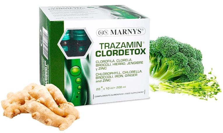 Marnys Trazamin Clordetox 20 viales