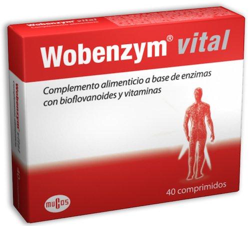 Wobenzym Vital 40 comprimidos Mucos